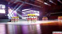 湘潭湘钢一中健美操队在湖南省第二届中学生运动会上华丽上演