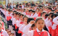 少先队建队纪念日:桂阳朝阳学校702名少年光荣入队