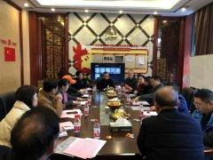 湘潭市社会组织促进会第五届第七次会长办公会议在商会召开