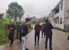 永兴:便江街道组织村(社区)支书集中徒步调查基层问题