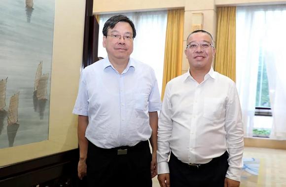 绿之韵董事长胡国安受邀参加湖南省纪念辛亥革命110周年座谈会